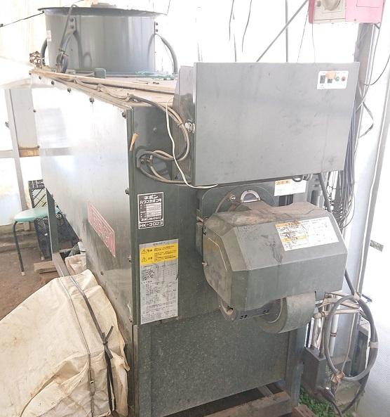 ビニルハウス 暖房機