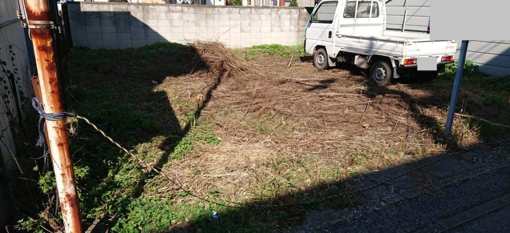 空き地の再生投資 荒れた空き地をDIYで駐車場に再生した記録 不動産投資