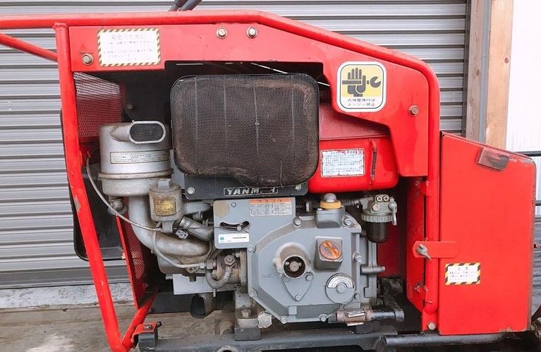 クローラ運搬車 ヤンマー PK60 側面